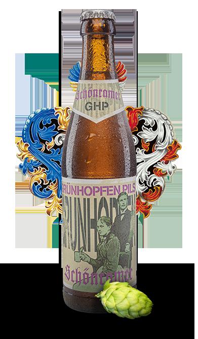 Bierige Spezialitaeten Gruenhopfen Pils 1