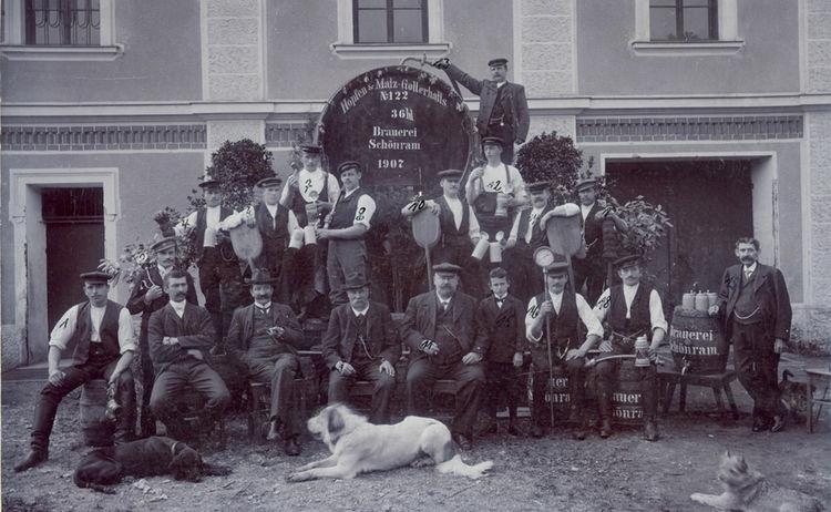 Brauer Wirt 1907 Alte Nrn 1