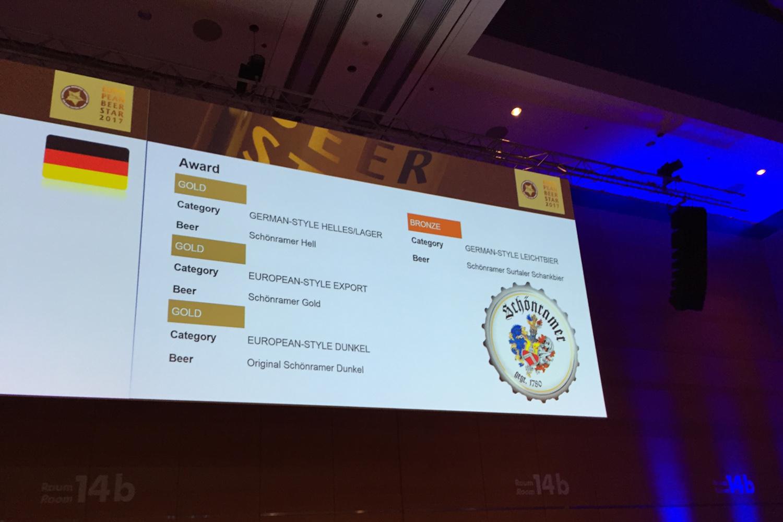 Gewinner European Beer Star 2017