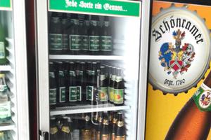 Kühlschrank- das frischeste Bier ist uns am liebsten